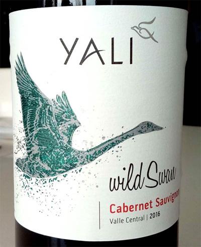 Отзыв о вине Yali wild Swan Cabernet Sauvignon 2016