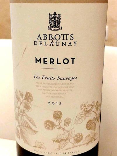 Отзыв о вине Abbotts & Delauney Merlot 2015