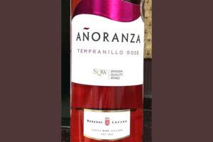 Отзыв о вине Anoranza tempranillo rose 2016