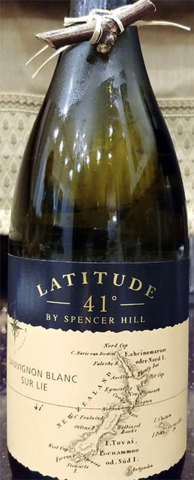 Отзыв о вине Latitude 41 degree by Spencer Hill