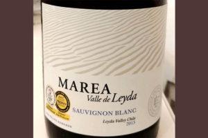 Отзыв о вине Marea Sauvignon blanc Valle de Leyda 2013