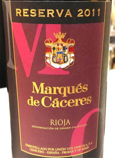 Отзыв о вине Marques de Caceres reserva 2011