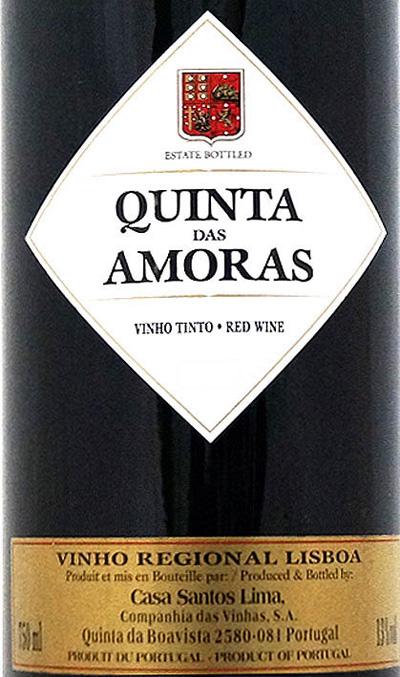 Отзыв о вине Quinta das Amoras vinho tinto 2015