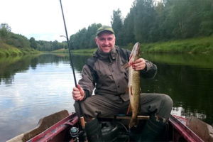 Монолог Гарри о рыбалке.