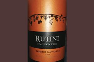 Отзыв о вине Rutini Encuentro Cabernet Sauvignon 2013