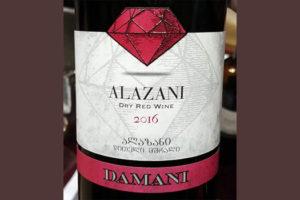 Отзыв о вине Alazani Damani 2016
