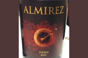 Отзыв о вине Almirez Toro 2015