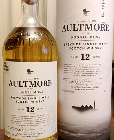 Отзыв о виски Aultmore of the foggie moss 12 y.o. 1 л