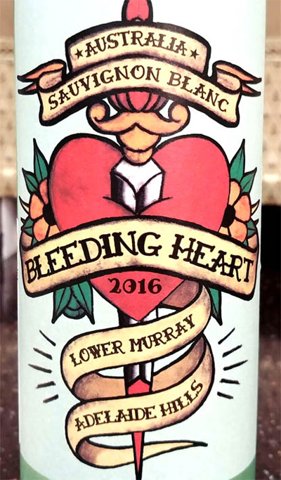 Отзыв о вине Bleeding Heart sauvignon blanc 2016