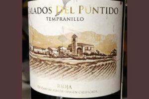 Отзыв о вине Calados del Puntido tempranillo 2012