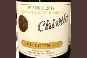 Отзыв о вине Chivite colleccion 125 Granja de Legardeta 2014