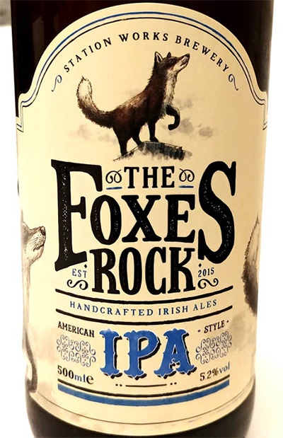 Отзыв о пиве Foxes Rock IPA