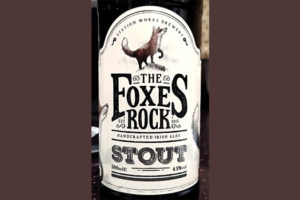 Отзыв о пиве Foxes Rock Stout