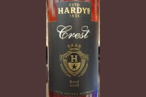 Отзыв о вине Hardy's Crest rose 2016