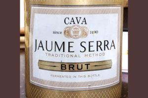 Отзыв об игристом вине Jaume Serra cava 2017