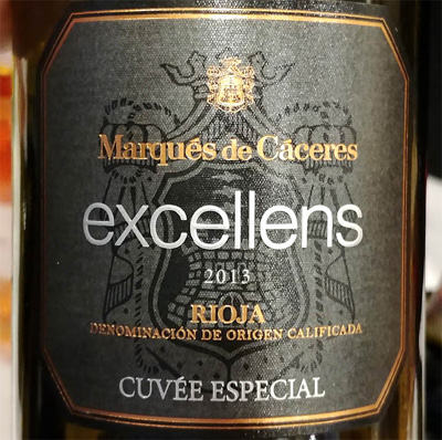 Отзыв о вине Marques de Caceres Excellens Cuvee especial 2013