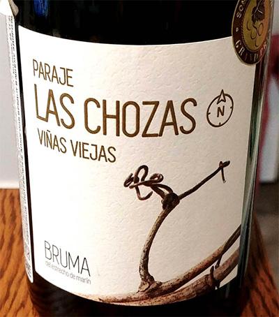 Отзыв о вине Paraje Las Chozas Bruma 2015
