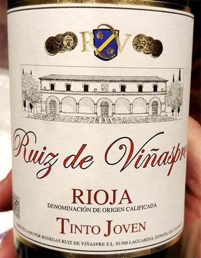 Отзыв о вине Ruiz de Vinaspre Tinto Joven 2016
