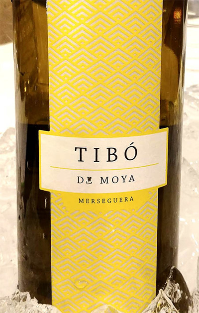 Отзыв о вине Tibo de Moya merseguera 2016