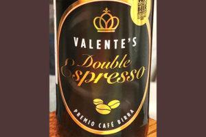 Отзыв о пиве Valente's Double Espresso