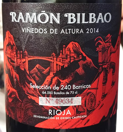 Отзыв о вине Vinedos de Altura Ramon Bilbao 2014