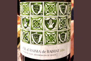 Отзыв о вине Vol d'Anima de Raimat 2016