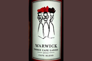 Отзыв о вине Warwick Three Cape Ladies 2013