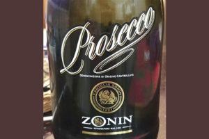 Отзыв об игристом вине Zonin prosecco brut 2017