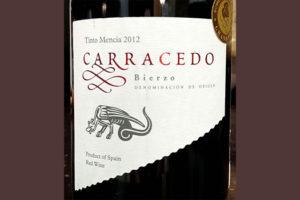 Отзыв о вине Carracedo Bierzo tinto mensia 2012
