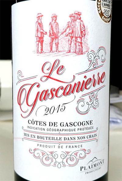 Отзыв о вине Le Gasconierre Cotes de Gascogne rouge 2015