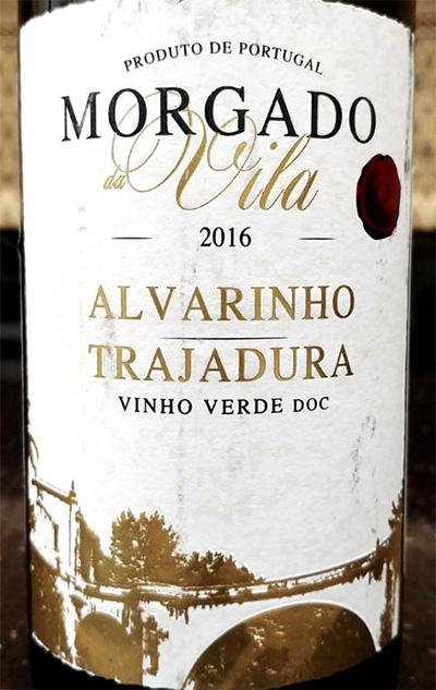 Отзыв о вине Morgado da Vila alvarinho trajadura 2016