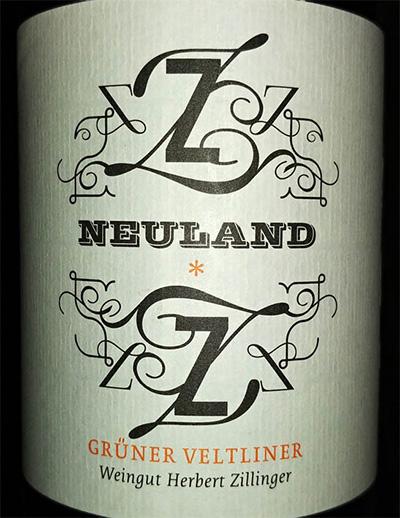 Отзыв о вине Neuland Gruner Veltliner 2015