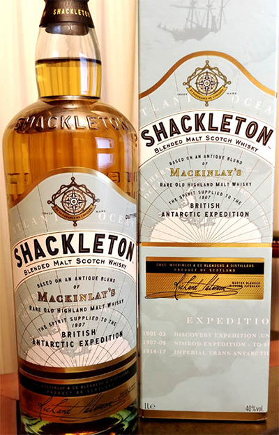 Отзыв о виски Shackleton blended scotch whisky 1 л