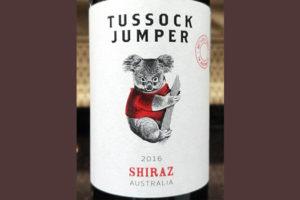 Отзыв о вине Tussock Jumper shiraz 2016