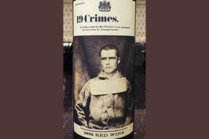 Отзыв о вине 19 Crimes 2016 Red Wine