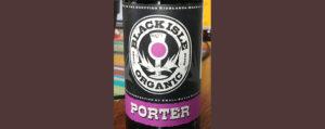 Отзыв о пиве Black Isle organic Porter