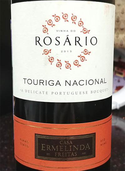 Отзыв о вине Casa Ermelinda Freitas Vinha do Rosario touriga nacional 2015