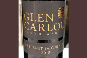Отзыв о вине Glen Carlou cabernet sauvignon 2015