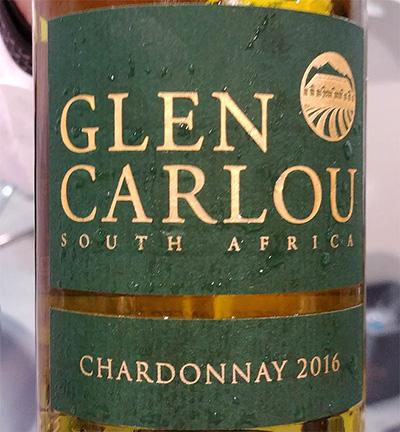 Отзыв о вине Glen Carlou chardonnay 2016