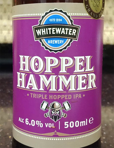 Отзыв о пиве Hoppel Hammer triple hopped IPA