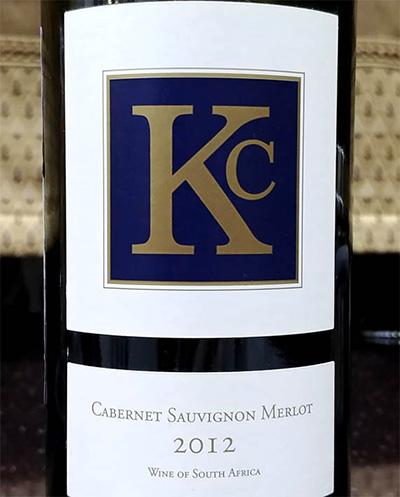 Отзыв о вине KC cabernet saivignon merlot cabernet franc 2012