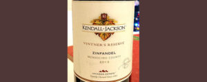Отзыв о вине Kendall-Jackson Zinfandel vinter's reserve 2013
