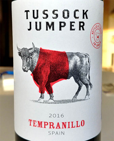 Отзыв о вине Tussock Jumper Tempranillo 2016