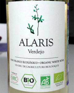 Отзыв о вине Alaris Verdejo bio 2015