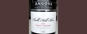 Отзыв о вине Angove Chalk Hill Blue shiraz cabernet 2016