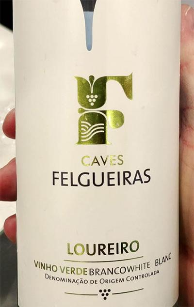 Отзыв о вине Caves Felgueiras loureiro