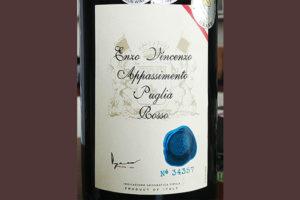 Отзыв о вине Enzo Vincenzo Appassimento Puglia rosso 2016