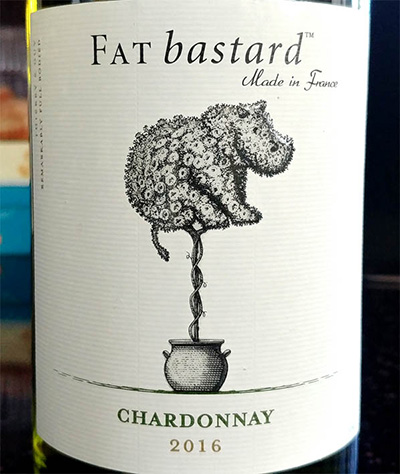 Отзыв о вине Fat bastard chardonnay 2016