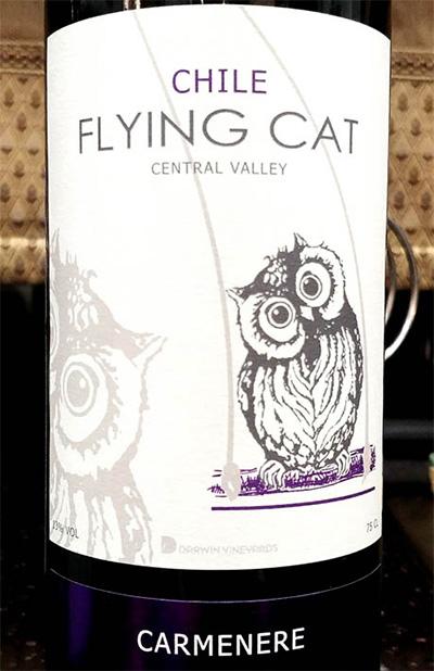 Отзыв о вине Flying Cat carmenere 2016