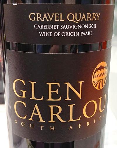 Отзыв о вине Glen Carlou Gravel Quarry cabernet sauvignon 2011
